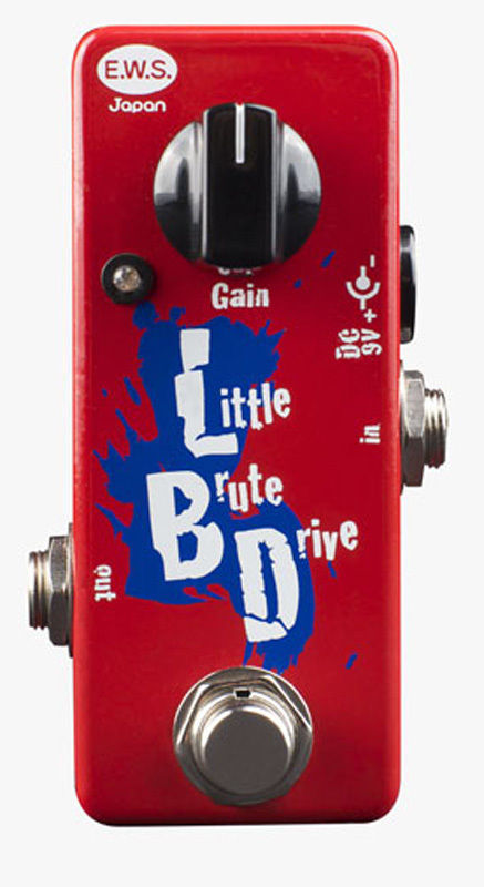 XOTIC E.W.S. Little Brute Drive overdrive pedal